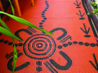 Recycled Mats feature Indigenous Designs